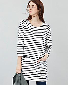 Joules Quinn Print Jersey Tunic