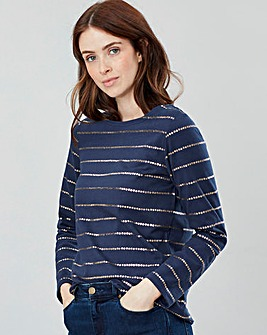 Joules Harbour Long Sleeve Jersey Top
