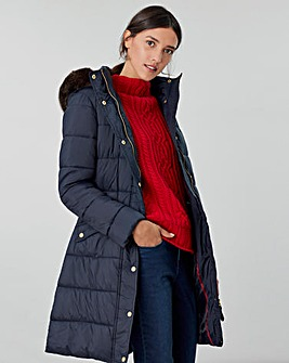 Joules Hartwell Longline Padded Coat