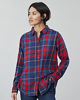Joules Lorena Brushed Woven Shirt