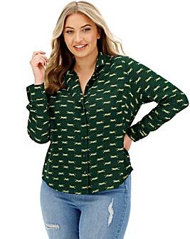Glamorous Tiger Print Shirt