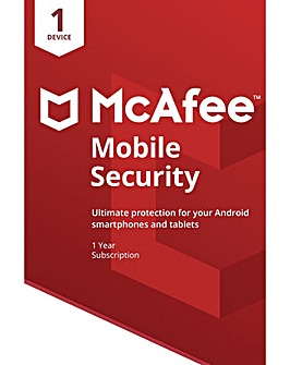 McAfee Mobile Security 1 Year 1 Device
