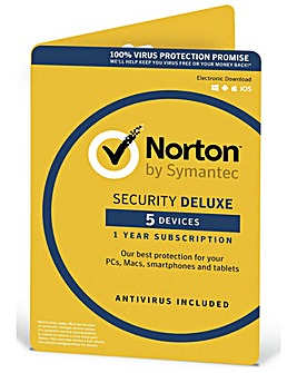 Norton Security Deluxe 2019 - 5 Devices