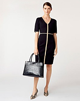 Hobbs Polly Knitted Dress