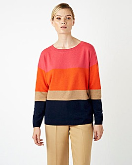 Hobbs Striped Sofia Sweater