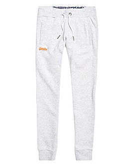 SuperDry White Jogging Bottoms