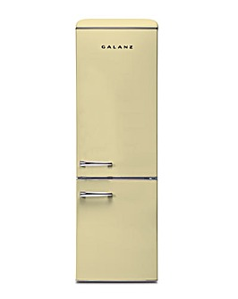 Galanz 300L Retro Fridge Freezer Cream