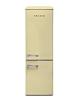 Galanz 300L Retro Fridge Freezer Cream