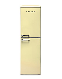 Galanz 247L Retro Fridge Freezer Cream
