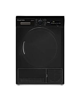 8KG Condenser Sensor Tumble Dryer, Black