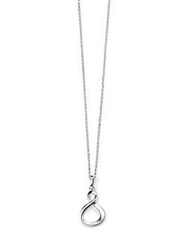 Sterling Silver Infinity Loop Pendant