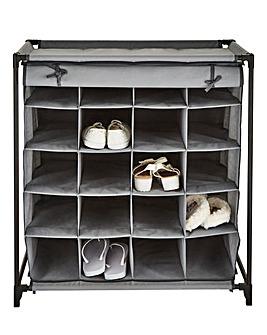 20-Grid Shoe Cabinet
