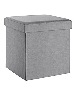 Fabric Folding Storage Seat Square