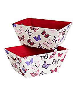Butterflies Set of 2 Totes