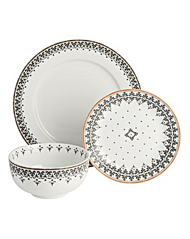 Portmeirion Arabian Light 12PC Dinner S