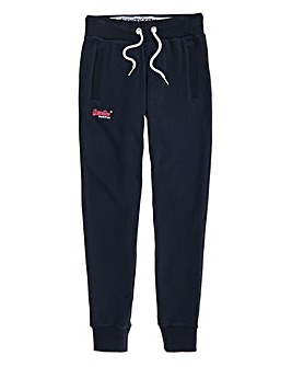SuperDry Navy Jogging Bottoms