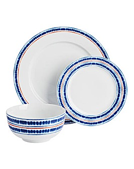 Portmeirion Drift Away 12 Piece Dinner Set