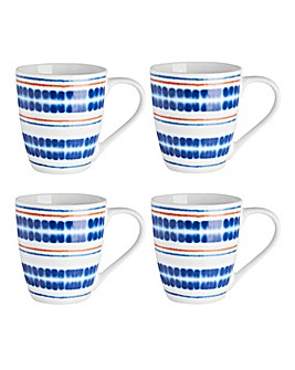 Portmeirion Drift Away Set of 4 Mugs