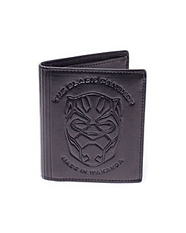 Black Panther Faux Leather Wallet