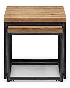 Camden Oak Nesting Side Tables