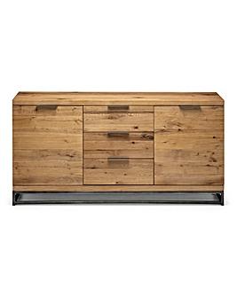 Camden Oak 2 Door 3 Drawer Sideboard