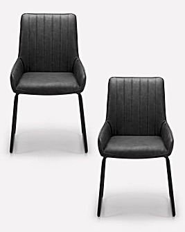 Shoreditch Pair of Dining Chairs