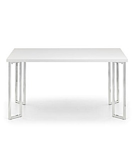 Morgan High Gloss Rectangle Dining Table