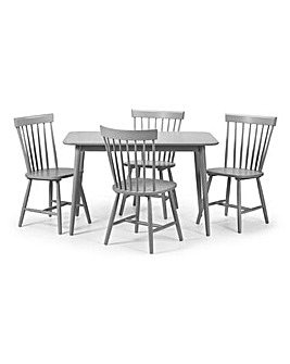 Porto Dining Table With 4 Chairs