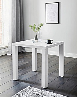 Halo High Gloss Square Dining Table