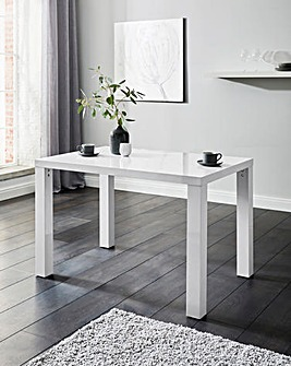 Halo High Gloss Rectangular Dining Table