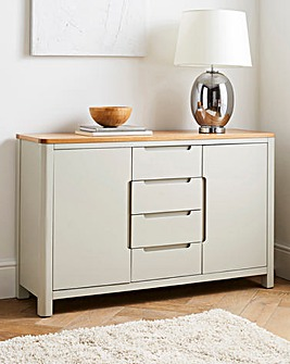 Logan Two-Tone 2 Door 4 Drawer Sideboard