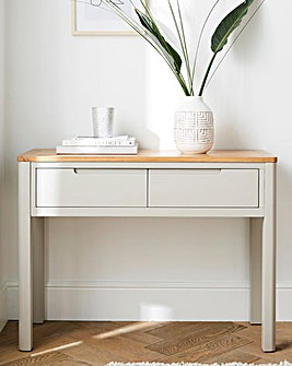 Logan Two-Tone Console Table