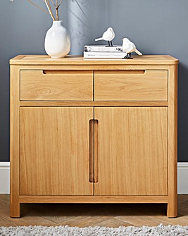 Logan Oak 2 Door 2 drawer Sideboard