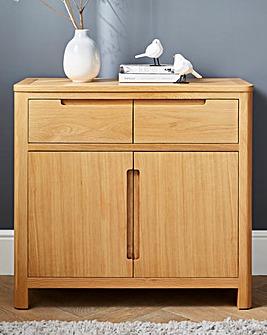Logan Oak 2 Door 2 drawer Sideboard