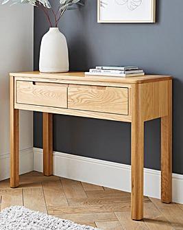 Logan Oak Console Table