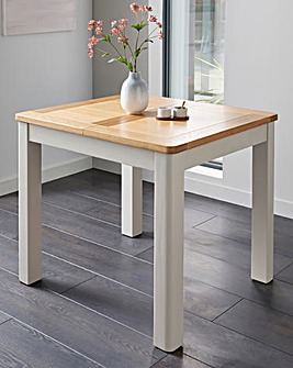 Logan Two-Tone Small Extending Dining Table