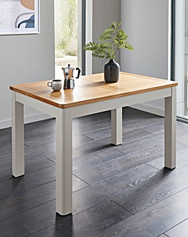Logan Two-Tone Large Extending Dining Table