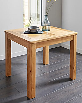 Logan Oak Small Extending Dining Table