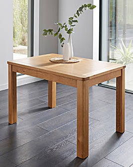 Logan Oak Large Extending Dining Table