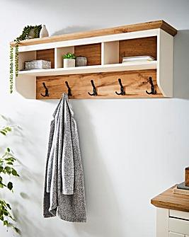 Hampton Coat Hook and Shelf