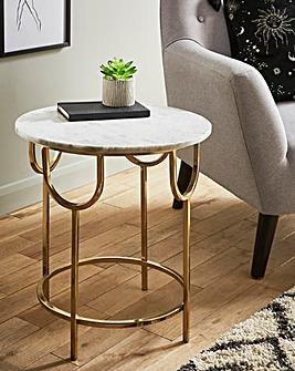 Sophia Marble Side Table