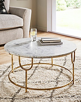 Sophia Marble Coffee Table