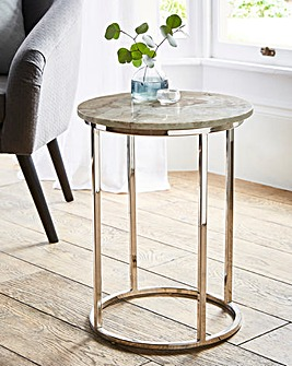 Fiorenza Marble Side Table