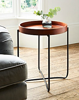 Agra Folding Tray Side Table
