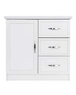 Kingston Compact 1 Door 3 Drawer Sideboard
