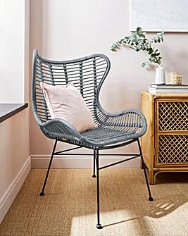 Erica Rattan Chair
