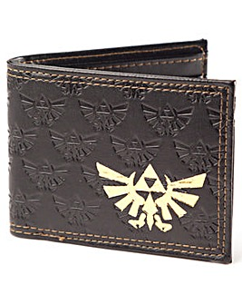 Zelda Gold Royal Crest Bifold Wallet