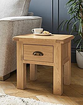 Faversham Assembled Oak Side Table