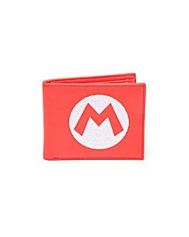 Super Mario Bros Wallet Mario Logo