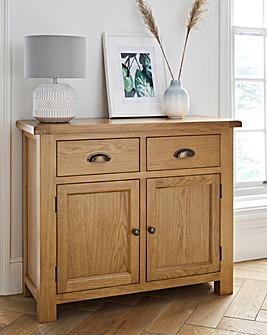 Faversham Assembled Oak 2 Door 2 Drawer Sideboard